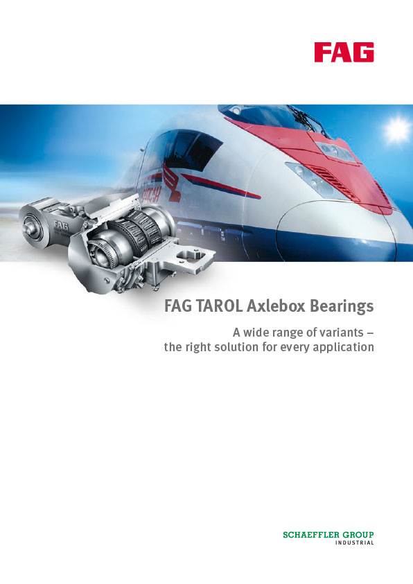 FAG TAROL Axlebox Bearings