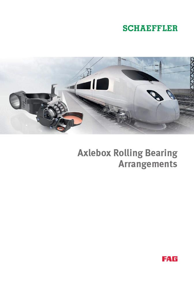 Axlebox Rolling Bearing Arrangements