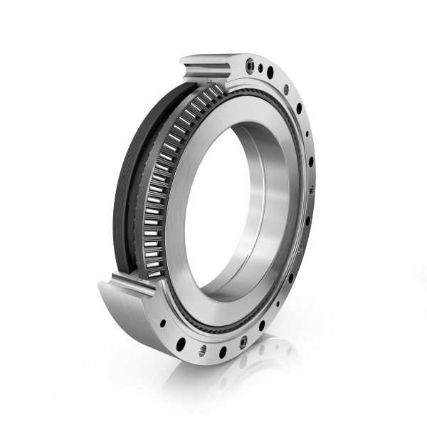 For maximum load-carrying capacity and rigidity: XZU conical thrust cage needle roller bearing and RTWH gearbox from Schaeffler