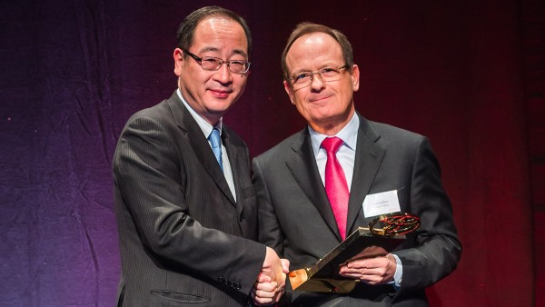 Schaeffler receives gold award from Toyota Motor.