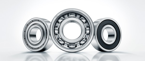 Deep groove ball bearings offer longer life, less noise and lower friction