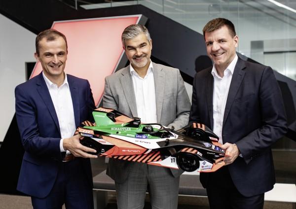 Schaeffler and Audi moving forward together