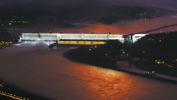 Conventional hydro power: Three Gorges Dam in China