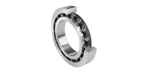 Deep groove ball bearing for steering systems