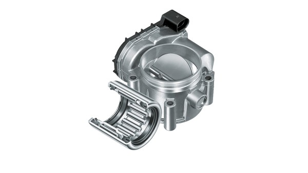 Throttle valve bearing and housing