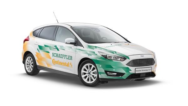 Gasoline Technology Car II (GTC II) Concept Vehicle